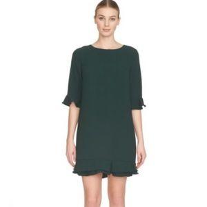 Cece Kate Ruffle Hem Dress
